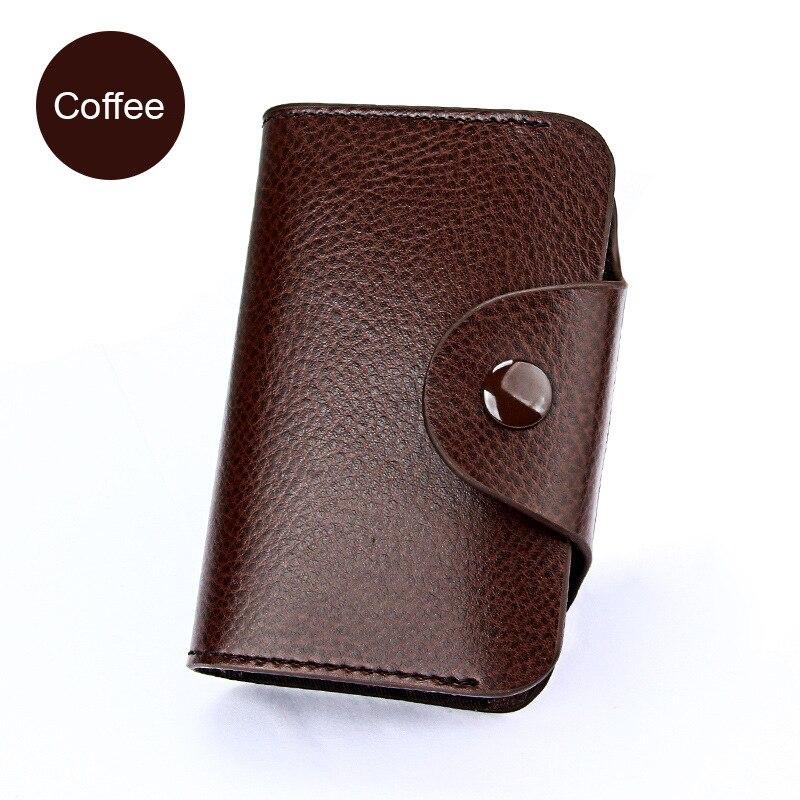 SMILEY-SUNSHINE-Genuine-Leather-Unisex-Business-Card-Holder-Wallet-Bank-Credit-Card-Case-ID-Holders-Women