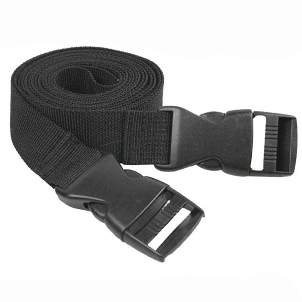2Pcs Adjustable Lashing Nylon Straps Sleeping Bag Camping Luggage Belt Strap Hot