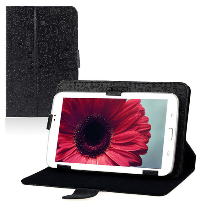 """Reliable Universal 7"""" Leather Stand Case Folio Cover For 7'' 7 inch Android Tablet PC MID"""