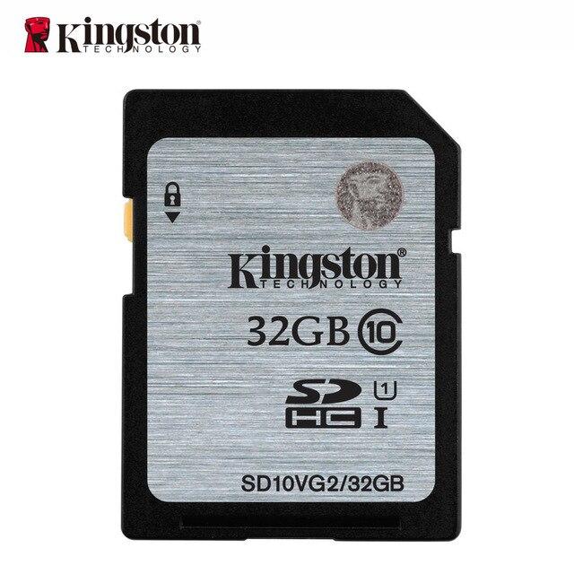 Kingston memoria sd 32 ГБ class 10 карты памяти флэш-памяти microsd