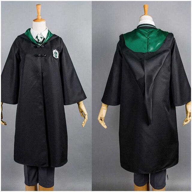 Uniforme Escolar Sonserina Draco Malfoy Cosplay Manto Manto Só Para A  Criança O Dia Das Bruxas
