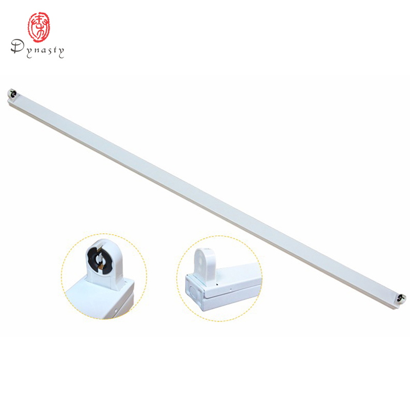 Dynasty Lighting <font><b>T8</b></font> <font><b>Tube</b></font> <font><b>Bracket</b></font> 2 Feet LED <font><b>Tube</b></font> Holder 60CM LED Fixture AC85-265V High Quality Accessories <font><b>Tube</b></font> Support Base image