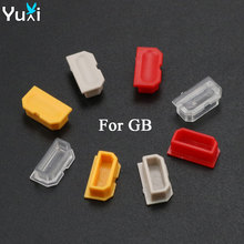 YuXi 2pcs Dust Cover For GameBoy GB game Console Shell Plug Plastic Button DMG 001