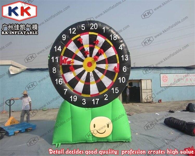 Cible de fléchettes gonflable géante de jeu de fléchettes gonflable de nouvelle conception