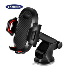 Universal Car Phone Holder 360 Adjustable Windshield Retractable Car Cell Phone Holder for IPhone Samsung Air Outlet Phone Mount car air outlet swivel mount holder for samsung galaxy s i9000