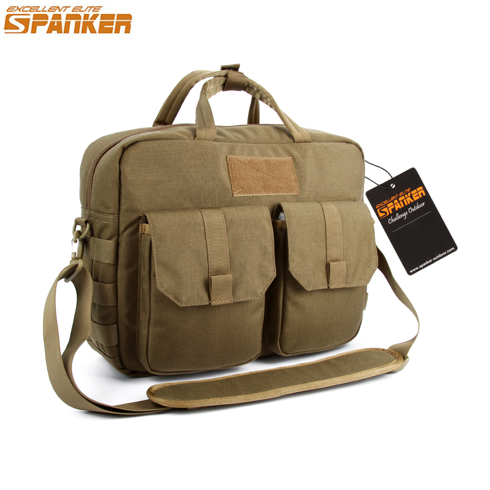 EXCELLENT ELITE SPANKER Men Tactical MOLLE Single Shoulder Briefcase Outdoor Hunting Camping Backpack Military Nylon Sports Bags excellent elite spanker outdoor military waterproof travel backpack army tactical hiking nylon bag molle hunting sport backpack