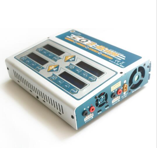 Ev-peak 100 W x 4 CQ3 RC Balance Lipo chargeur de batterie Nimh Nicd lithium chargeur chargeur avec écran LCD numérique