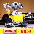 Лепин 16003 Идеи Робот Валл-и Строительные Сборка Блоки Кирпичи Образовательные Игрушки Совместим с 21303