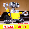 Lepin 16003 Ideas Robot Wall-E Building Assembling Blocks Bricks Educational  Kid`s Toys Compatible with 21303