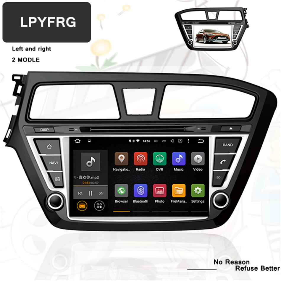 Ownice C500 G10 Android 81 8 Core For Hyundai I20 2015 2018 Car Mp3 01 Wiring Diagram 4 32g Octa 80 Fit 2014 2016 2017 Dvd