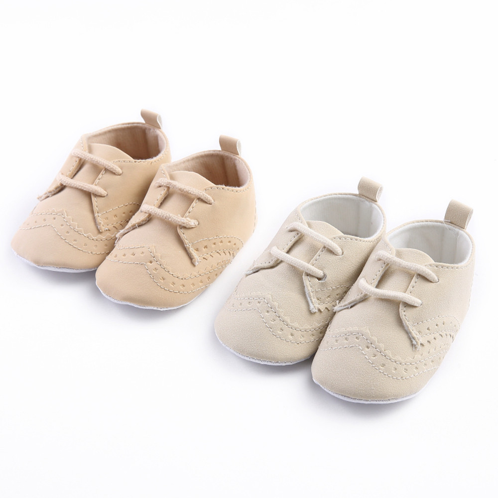 Infant Shoes Prewalker Bandage Soft-Sole Toddler Baby-Boy-Girl New Flats Single
