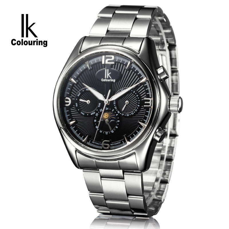 ФОТО Casual for male watch fully-automatic mechanical watch needle personalized revealed at men's watch