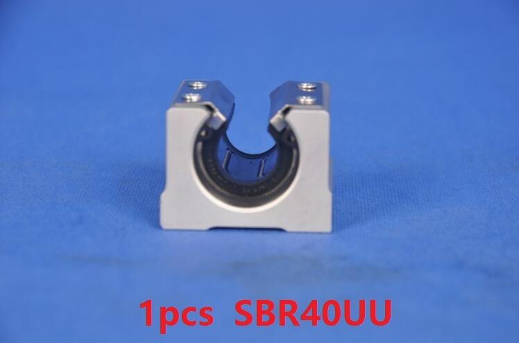 где купить 1pcs SBR40UU pressing plate Linear Open Block Bearings Linear Case Unit дешево
