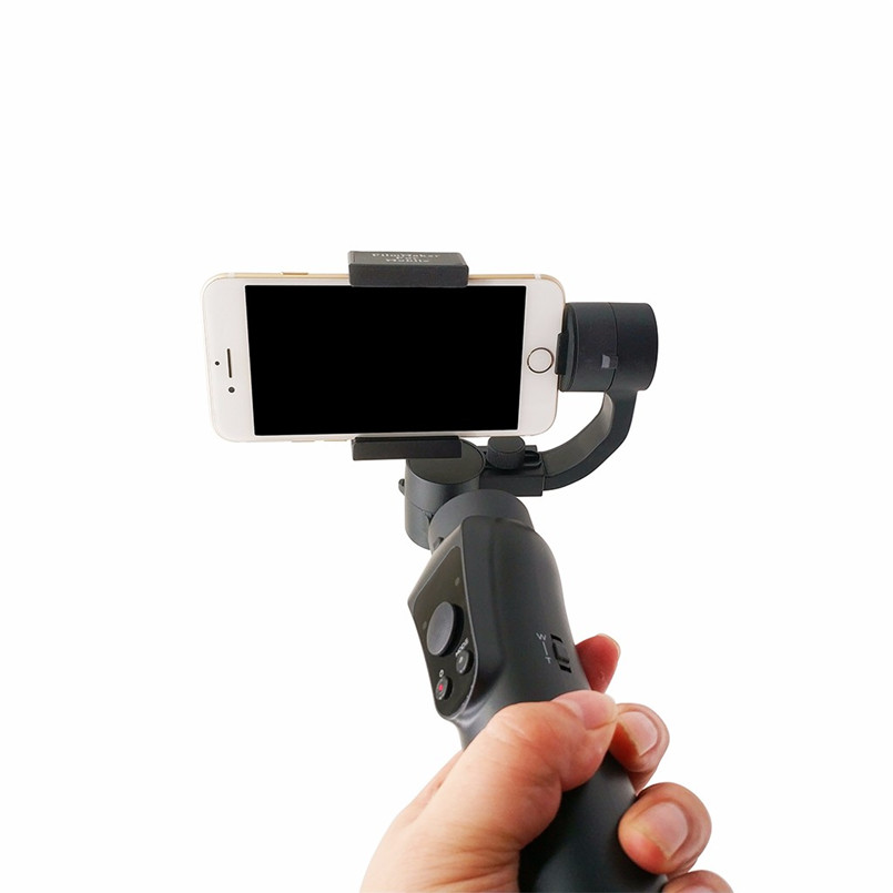 Gimbal Foldable Extendable 3 Axis Smartphone Stabilizer Face recognition Smartphone Stabilizer Three-Axis Handheld 40AP29