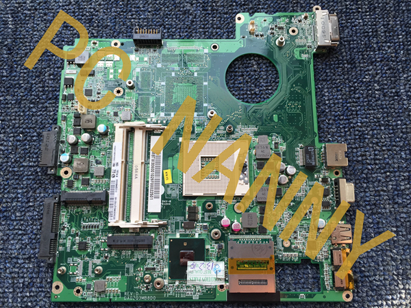 ФОТО Hot sale! for 8742 Laptop Motherboard PN:MBTW306001/DA0ZQ3MB8D0 Integrated HM55 DDR3 High quanlity
