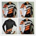 Ktm Motocross Camiseta Nueva de la Llegada de manga larga Hombres Off-road camiseta Bicicleta Paseo senderismo ourdoor camisetas