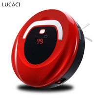 New Robot Vacuum Cleaner Sweep Suction Type Cleaning Appliances for Home