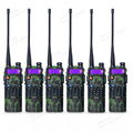 6 pçs/lote Baofeng UV-5R 3800 mAh dual band rádio portátil UHF 400-520 MHz VHF 136-174 MHz presunto transceptor de rádio walkie talkie