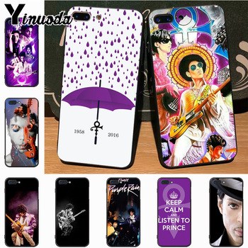 Yinuoda Cartoon prince rogers nelson Luxury Hybrid phone case for Apple iPhone 8 7 6 6S Plus X 5S 11pro SE 12pro max case Cover image