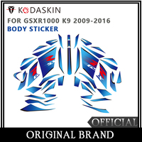 KODASKIN Motorcycle For SUZUKI GSXR1000 K9 2009 2016 2D Fairing Emblem Sticker Decal