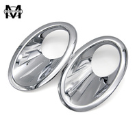 Car Styling For Nissan Qashqai And Qashqai 2 2010 2011 2012 2013 ABS Chrome Front Fog