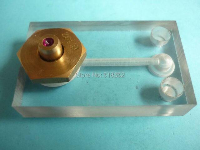 0,192mm Wasser Jet Panel w/Rubin Drahtführung, Sprühwasserkühlung ...