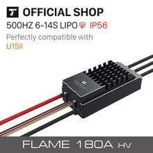 T motor Flamme 180A 6 14S HV Elektronische Geschwindigkeiten Controller Für VTOL Multicoptor UAV Drone
