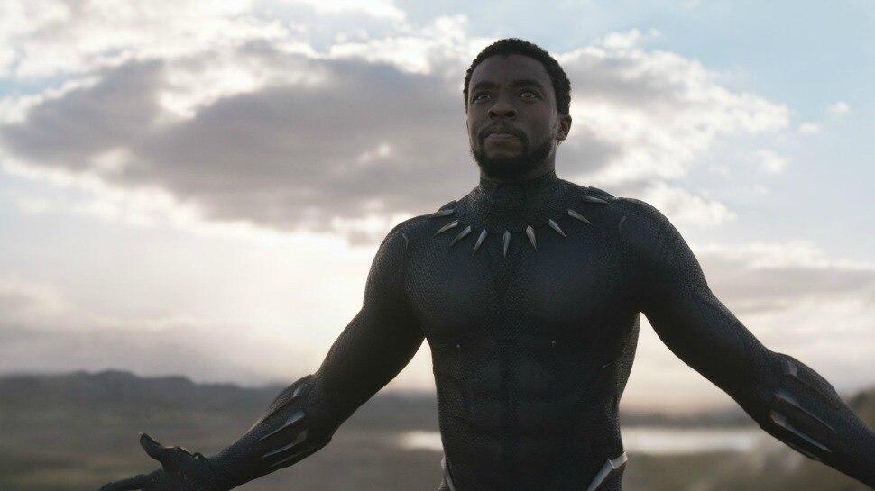 e8e93d1f6c341 New Black Panther Necklace Wakanda King T'Challa Black movie jewellery  women men choker