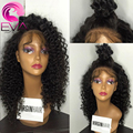7A Mongolian Kinky Curly Wigs Glueless Full Lace Wigs Kinky Curly With Baby Hair Short Kinky Curly Lace Front Wigs Human Hair