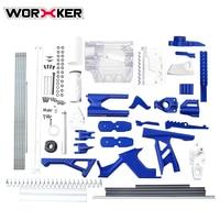 Рабочий F10555 № 209 калиберн игрушечный пистолет модифицированный набор аксессуаров новая версия синий + белый + прозрачный
