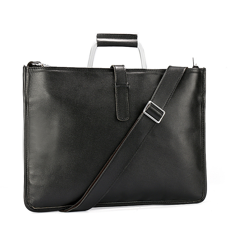 new Retro genuine leather handbag men's bags casual shoulder bag leather handbags messenger bag men leather purses and handbags-in Top-Handle Bags from Luggage & Bags    2