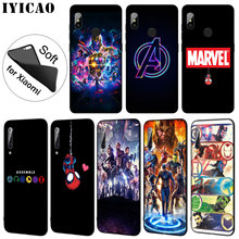 IYICAO Avengers Endgame Marvel Comics Soft Silicone Phone Case for