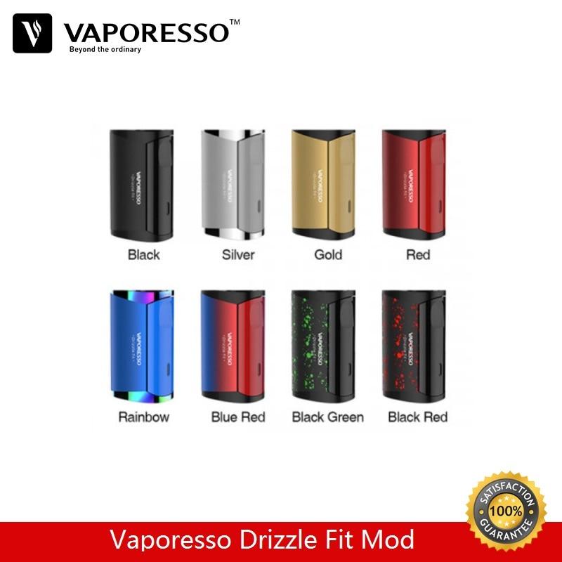 Pré-commande Vaporesso bruine Fit Box Mod 40 W 1400 mAh batterie intégrée Vape Mod Fit pour 510 atomiseur vaporisateur e-cigarettes Mods