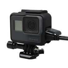 цена на HERO 7 hero6 Hero5 Protective Housing Frame Case with Hand Strap for GoPro Hero 5 black Go pro 7 6 5 Sports Camera Accessories
