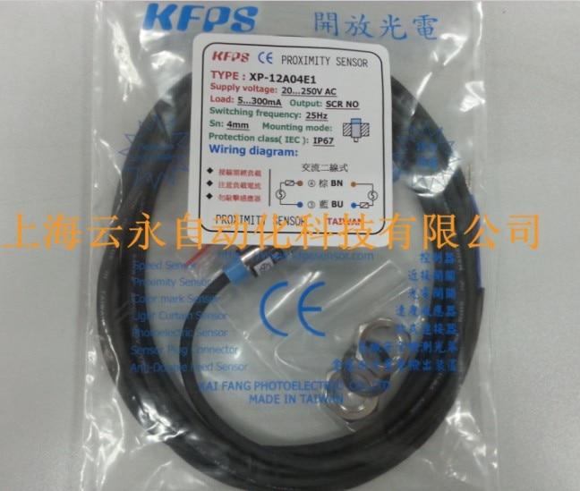 NEW  ORIGINAL XP-12A04E1  Taiwan kai fang KFPS twice from proximity switch turck proximity switch bi2 g12sk an6x