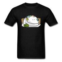 Сухари филателист Повседневное черная футболка Для мужчин новинка мультфильм Дизайн Забавный Лето футболка Топы с короткими рукавами скид...