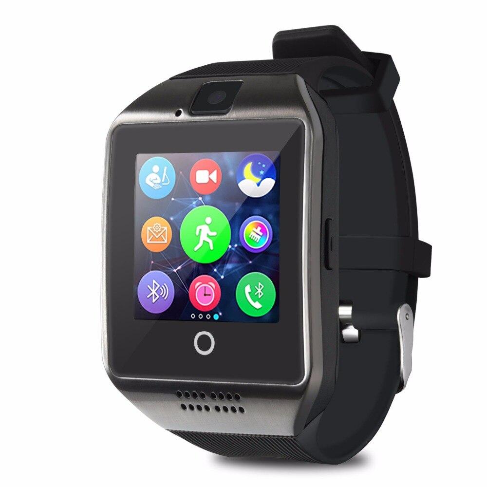 TimeOwner Q18 Smart Watch Sport Pedometer SIM TF Card Camera Sleep Monitor Sync WhatsApp