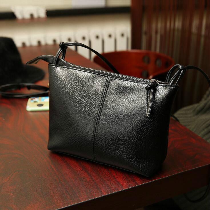 2017 Fashionable Casual Shoulder Bag Cross Body Bag Small Vintage Women's Handbag High Quality  PU Leather Women Messenger Bags
