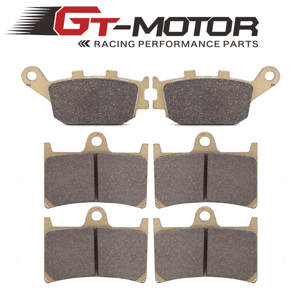 Motorcycle Front and Rear Brake Pads For YAMAHA YZF R6 2003-2015 YZF R1 1000 04-06 FZ6 2007-2009 for triumph speed triple 955cc 02 04 motorcycle front and rear brake pads set