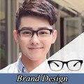 2016 Brand Design Gafas Marcos Informáticos Llanura Miopía Óptica Marco de Anteojos de la vendimia Para Los Hombres Masculinos Anteojos de montura de gafas