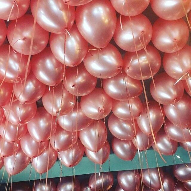 10 Hoa Hồng Vàng Cao Su Bóng Viền Champagne Ngôi Sao Bóng Cưới Trang Trí Tiệc Cao Su Ballon cho Sinh Nhật Trang Trí