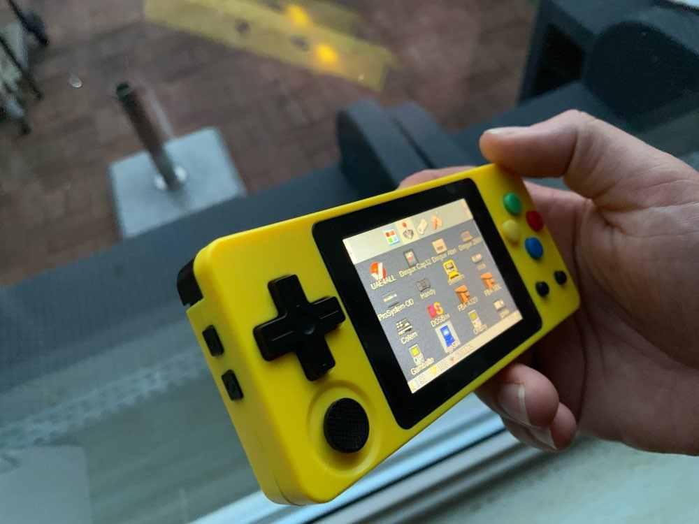 Новая игровая консоль LDK 2 6 дюйма с экраном мини портативная ностальгические
