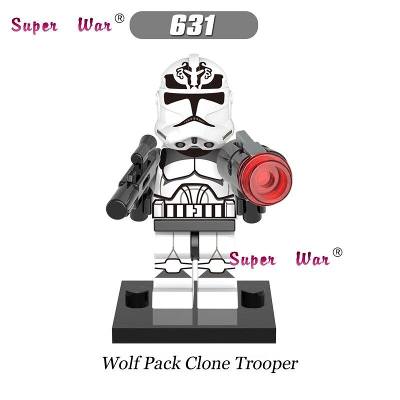 1 шт. Звездные войны супергероев Республика AV-7 104th волчья стая Клон Trooper строительные блоки модели Кирпичи игрушки для детей комплекты