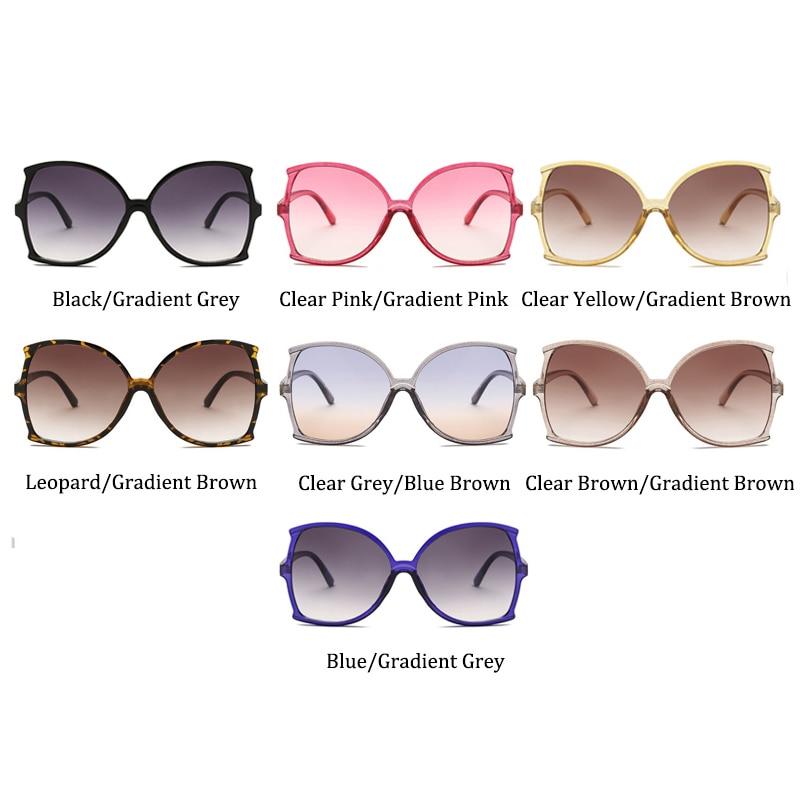 ALOZ MICC Vintage Oversize Square Sunglasses Women 2019 Brand Designer Big Frame Sun Glasses Men Eyewear UV400 Q619 in Women 39 s Sunglasses from Apparel Accessories