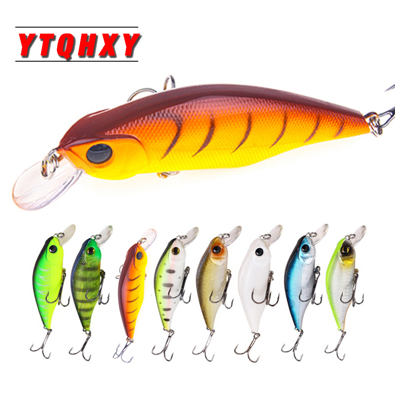YTQHXY 1Pcs Crankbait Minnow Bait 9.5cm 11.3g Fishing Lure Isca Fake Artificial Hars Baits Swimbaits Wobblers Bass Pesca WQ162A
