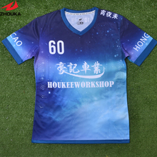 Custom  soccer jersey,name number and logo sublimatioin printing