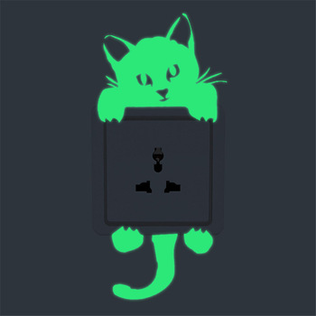 26 Styles Luminous Cartoon Switch Sticker Glow in the Dark Cat Sticker Fluorescent Fairy Moon Stars Sticker Kid Room Decoration 26 Styles Luminous Cartoon Switch Sticker Glow in the Dark Cat Sticker 26 Styles Luminous Cartoon Switch Sticker Glow in the Dark Cat Sticker HTB1JWDjdFTM8KJjSZFlq6yO8FXap