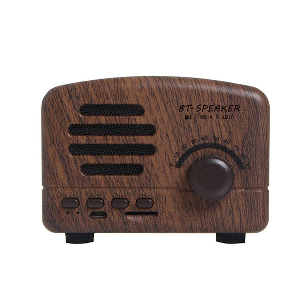 Casa Com Bateria Recarregável Falante Receptor AM FM USB Portátil de Bolso Mini Rádio Estéreo Suporte Bluetooth Cartão Retro