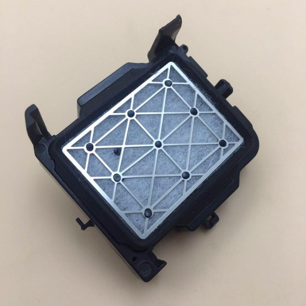 2 piezas DX5 Mimaki jv33 tapado estación dx7 tapa disolvente Mutoh mimaki jv5 cjv30 lecai xuli galaxy cabeza de impresión dx5 de estación