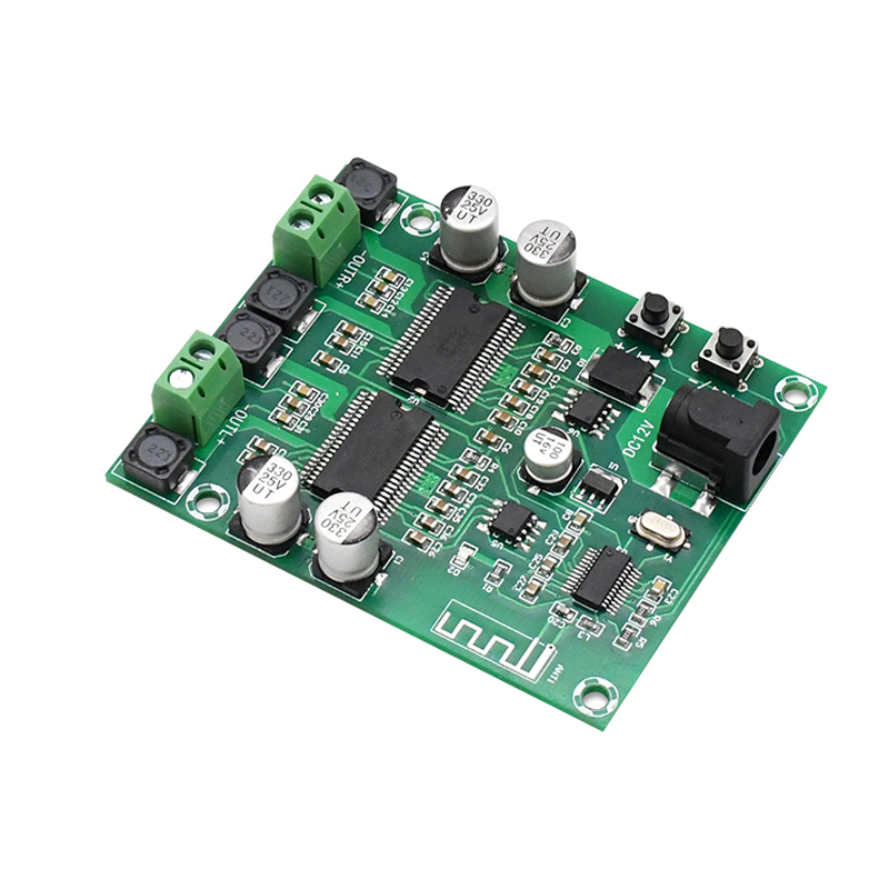 טלויזיות, פלאזמות, LCD Bluetooth מגבר מועצת Dual Core HD עיבוד HIFI Professional Edition Dual Channel 20 * 2 DIY מגברי אודיו Power דיגיטלי (1)